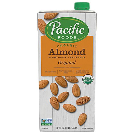 Pacific Almond Milk Original Organic - 32 Fl. Oz.