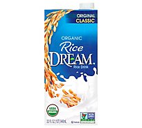 Rice Dream Rice Drink Organic Classic Original - 32 Fl. Oz.