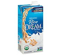 Rice Dream Rice Drink Enriched Original Organic - 32 Fl. Oz.