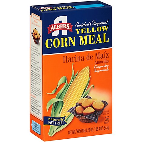 Albers Yellow Corn Meal - 20 Oz