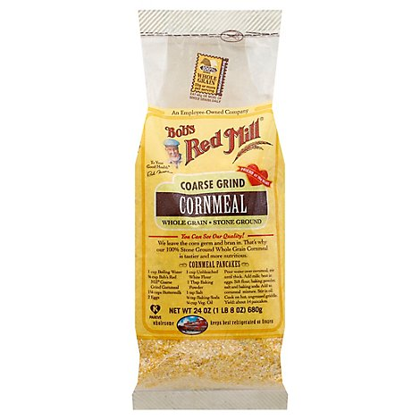 Bobs Red Mill Cornmeal Coarse Grind - 24 Oz