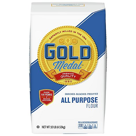 Gold Medal Flour All-Purpose Enriched Bleached Presifted - 10 Lb