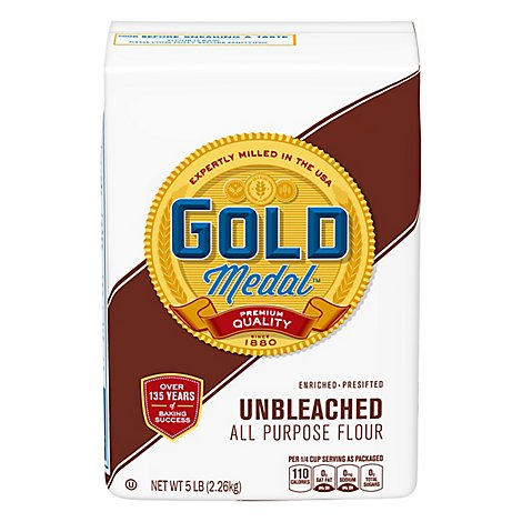 Gold Medal Flour All-Purpose Unbleached - 5 Lb