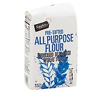 Signature SELECT/Kitchens Flour All Purpose Pre-Sifted Enriched Bleached - 32 Oz