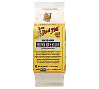 Bobs Red Mill Flour Brown Rice Gluten Free - 24 Oz