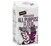 Signature SELECT/Kitchens Flour All Purpose Pre-Sifted Enriched Unbleached - 5 Lb