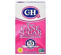 C&H Sugar Granulated - 1 Lb