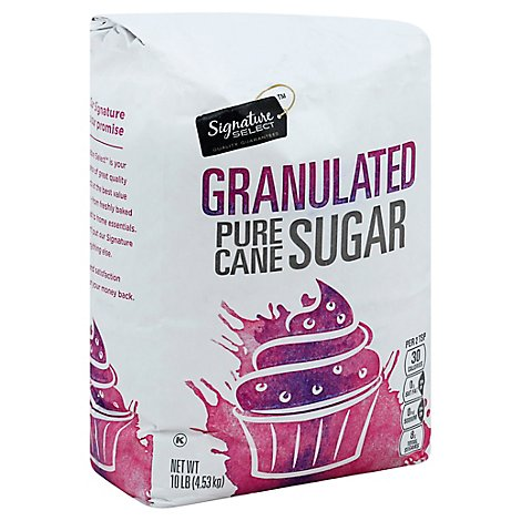 Signature SELECT Sugar Fine Granulated - 10 Lb