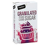 Signature SELECT Sugar Fine Granulated - 16 Oz