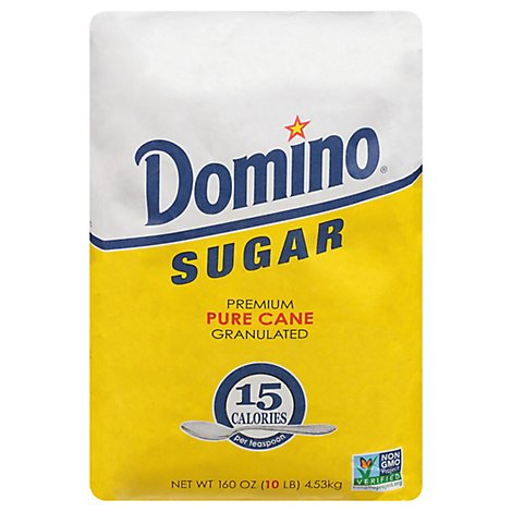 Domino Sugar Pure Cane Granulated - 10 Lb