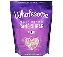 Wholesome Organic Cane Sugar Pouch - 16 Oz