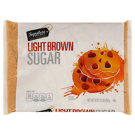 Signature SELECT Sugar Brown Light - 16 Oz