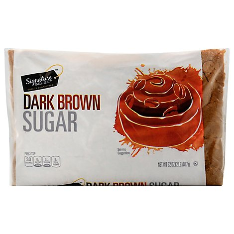 Signature SELECT Sugar Brown Dark - 32 Oz