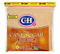 C&H Sugar Cane Pure Golden Brown - 2 Lb