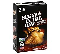 Sugar In The Raw Sugar 100% Natural Turbinado Cane Sugar - 32 Oz