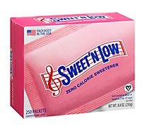 Sweet N Low Sweetener Packets Zero Calorie - 250 Count