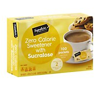 Signature Kitchens Sweetener Sucralose Packets - 100 Count