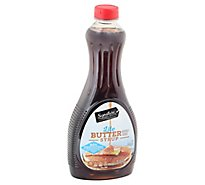 Signature SELECT Syrup Butter Flavored Lite - 24 Fl. Oz.