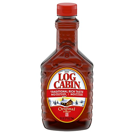 Log Cabin Syrup Original - 24 Fl. Oz.
