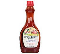 Maple Grove Farms Maple Syrup Sugar Free - 24 Fl. Oz.