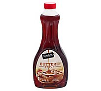 Signature SELECT Syrup Butter Flavored - 24 Fl. Oz.