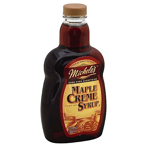 Micheles Syrup Maple Creme - 13 Fl. Oz.