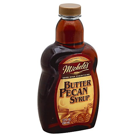 Micheles Syrup Butter Pecan - 13 Oz