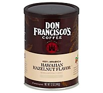 Don Franciscos Coffee All Purpose Grind Medium Roast Hawaiian Hazelnut - 12 Oz