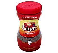 Folgers Coffee Instant Classic Roast - 8 Oz