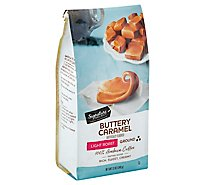 Signature SELECT Coffee Ground Light Roast Buttery Caramel - 12 Oz