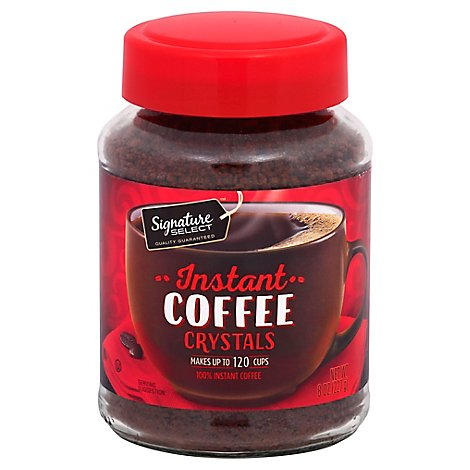Signature SELECT Coffee Instant Crystals Original - 8 Oz