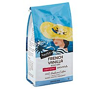 Signature SELECT Coffee Arabica Ground Light Roast French Vanilla - 10 Oz