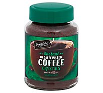 Signature SELECT/Kitchens Coffee Instant Crystals Decaffeinated - 8 Oz