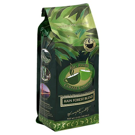 Big River Coffee Company Signature Blend Coffee Rain Forest Blend - 12 Oz