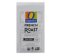 O Organics Coffee Ground Dark Roast French Roast - 10 Oz