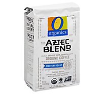 O Organics Coffee Ground Medium Roast Aztec Blend - 10 Oz