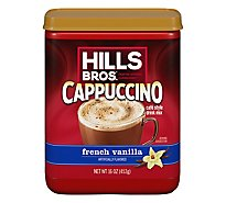 Hills Brothers. Cappuccino Drink Mix French Vanilla - 16 Oz