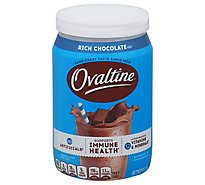 Ovaltine Powder Drink Mix Rich Chocolate - 12 Oz