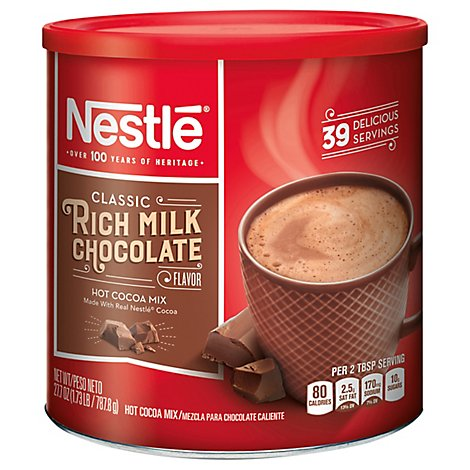 Nestle Hot Cocoa Mix Rich Milk Chocolate Flavor - 27.7 Oz