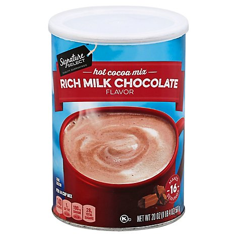 Signature SELECT Cocoa Mix Hot - 20 Oz