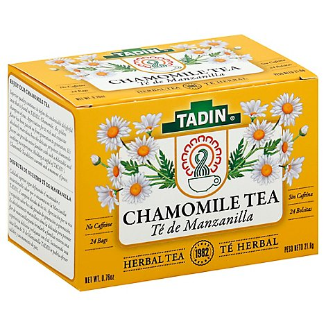 TADIN Herbal Tea No Caffeine Chamomile - 24 Count