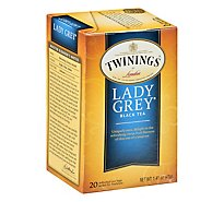 Twinings of London Black Tea Classics Lady Grey - 20 Count