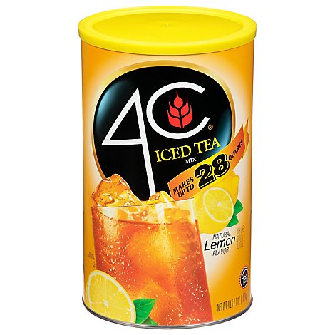 4C Iced Tea Mix Lemon - 66.1 Oz