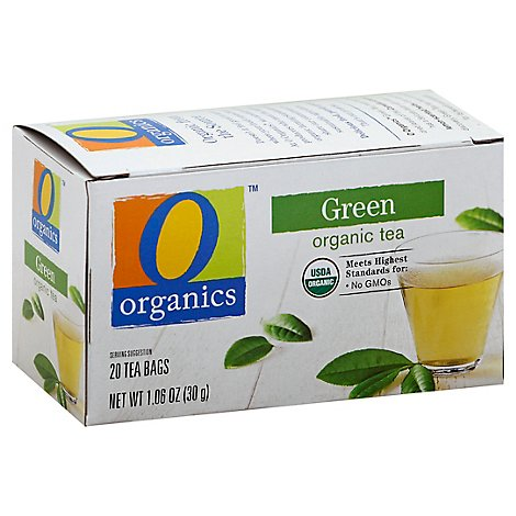 O Organics Green Tea Organic 20 Count - 1.06 Oz
