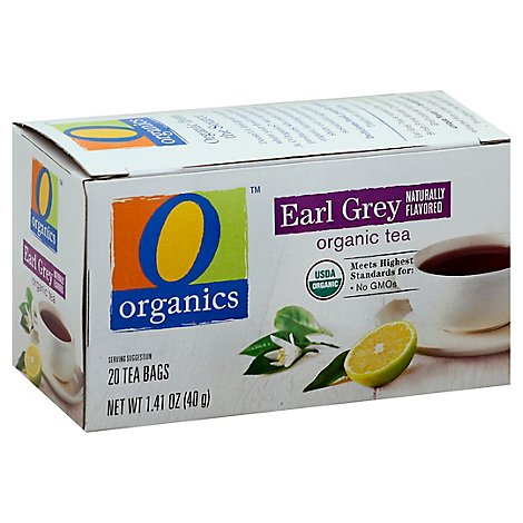 O Organics Organic Tea Earl Grey 20 Count - 1.41 Oz