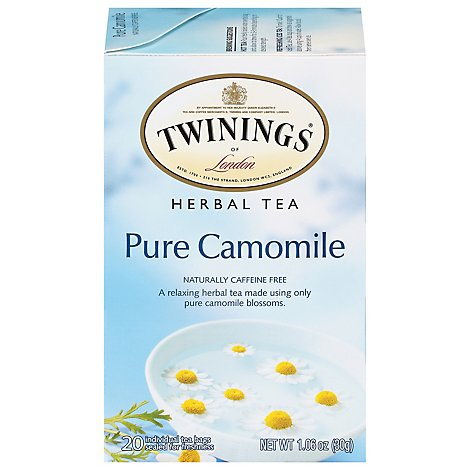 Twinings of London Herbal Tea Pure Camomile - 20 Count