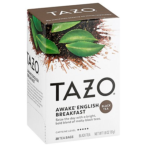 TAZO Tea Bags Black Tea Awake English Breakfast - 20 Count