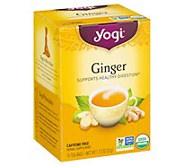 Yogi Herbal Supplement Tea Ginger 16 Count - 1.12 Oz