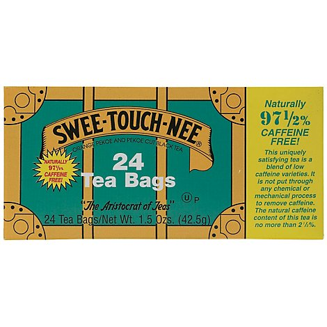 Swee-Touch-Nee Caffeine Free Tea Bags - 24 Count