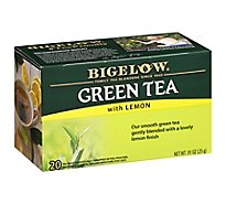 Bigelow Green Tea Bags with Lemon 20 Count - 0.91 Oz